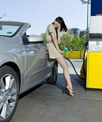 Der Preis des Benzins 95 auf tnk in moskwe